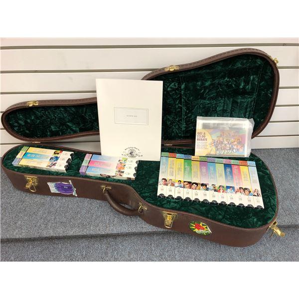 Elvis Presley Commemorative collector's set limited edition #2231/5000 - guitar case collection w/ J