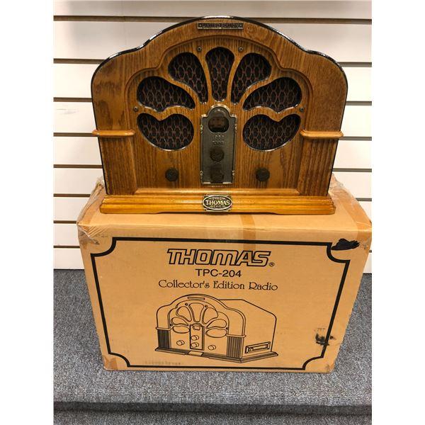 Thomas TPC-204 Collector's Edition Radio (new w/ box)
