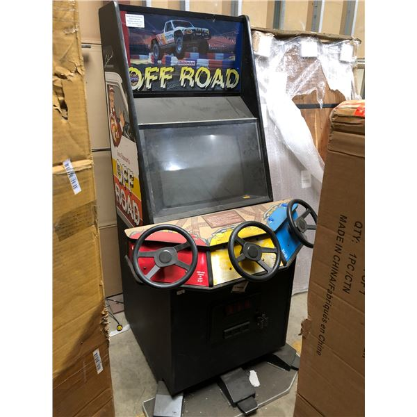 Ivan Stewart's Ironman Super Off Road arcade game (untested - as is)