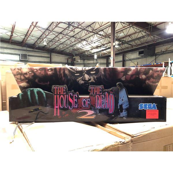 SEGA The House of The Dead 2 arcade game light-up headliner