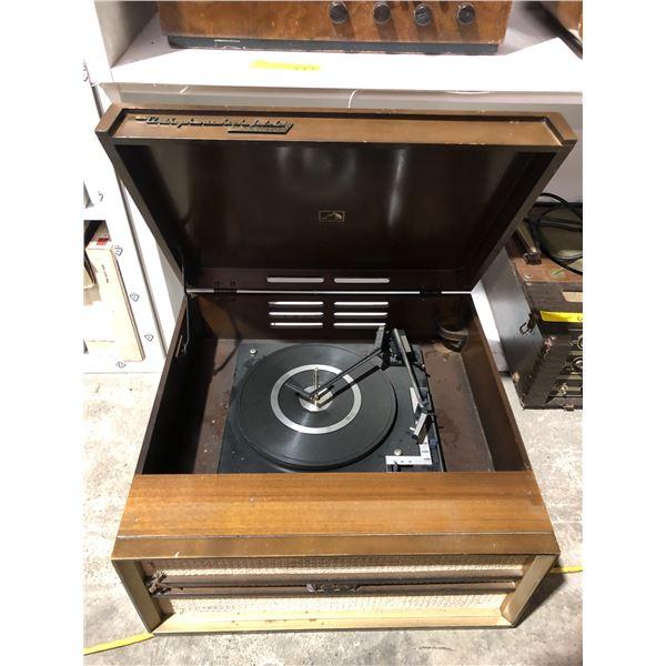 Vintage RCA New Orthophonic high fidelity turn table