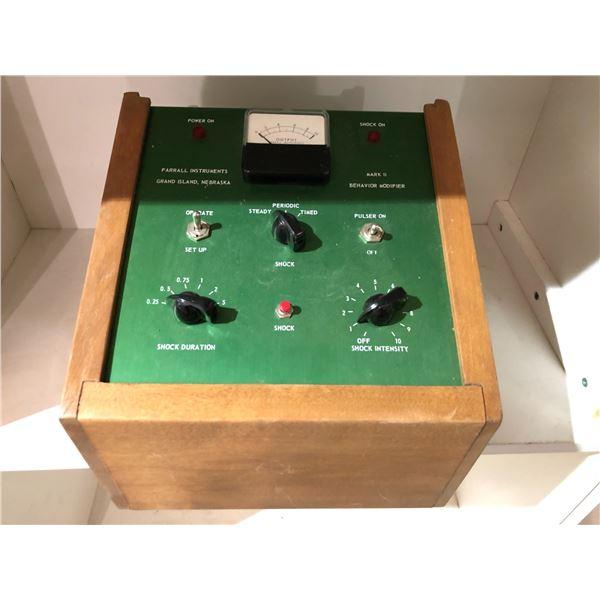 Vintage Farrall instruments Grand Island Nebraska Mark II behaviour modifier