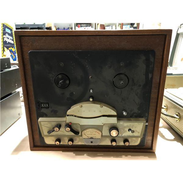 Vintage Heath kit reel to reel tape player/ recorder
