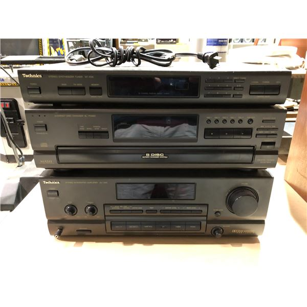 Technics Three component home stereo system