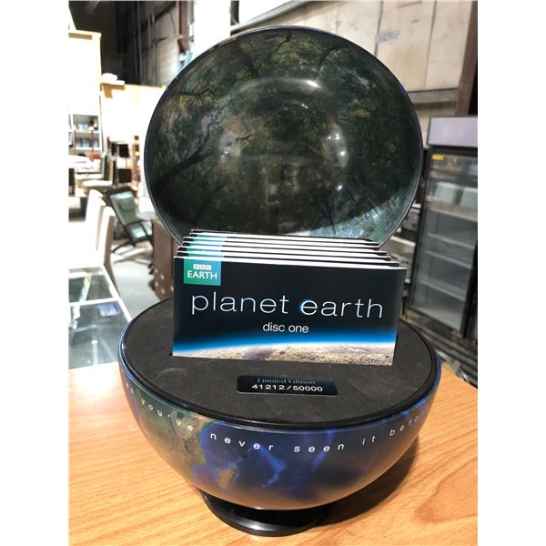 Limited edition 41212/50000 Planet Earth As You've Never Seen It Before compact DVD collector's set