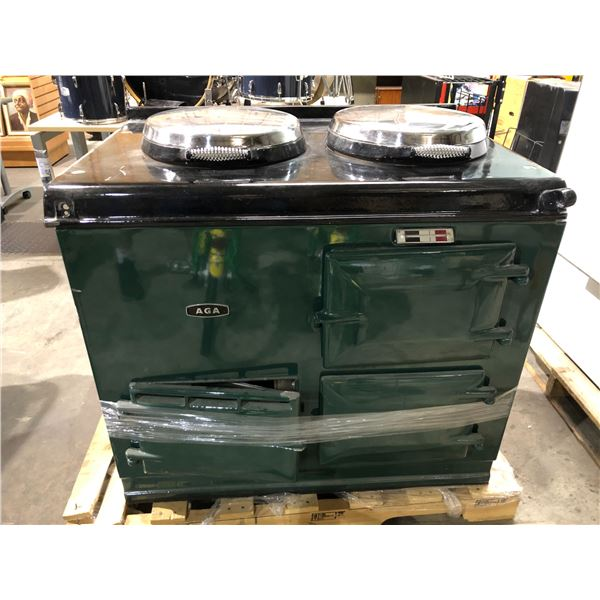 AGA cast iron gas cook stove (high end expensive unit) from the show