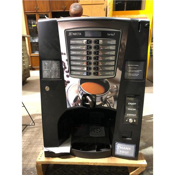 New Necta Brew 3 commercial fresh coffee machine