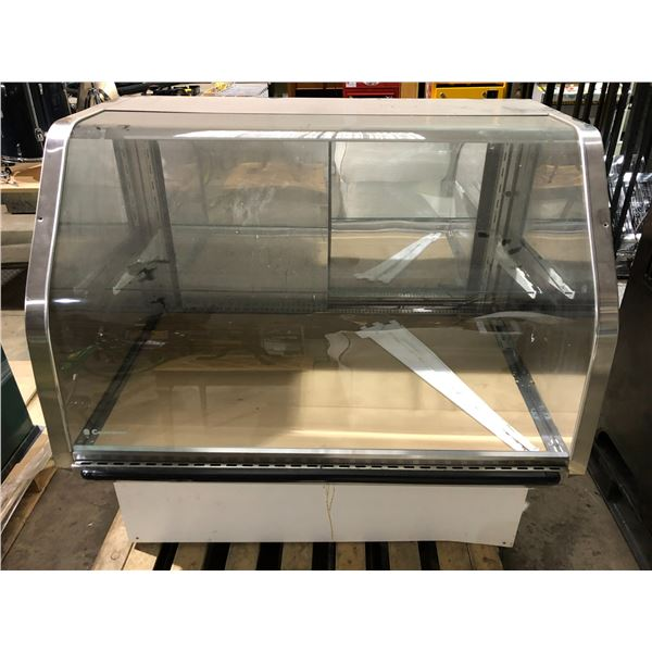 Coldstream glass front deli counter display cooler from the show (good working order)