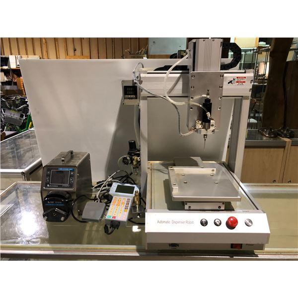 Automatic Dispenser Robot w/ ADTECH TV5300 & BTC600FC CR Pump