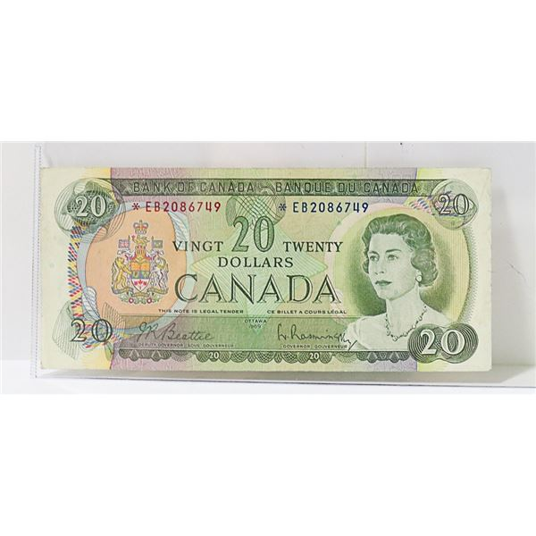 CANADIAN 1969 REPLACEMENT $20 BILL