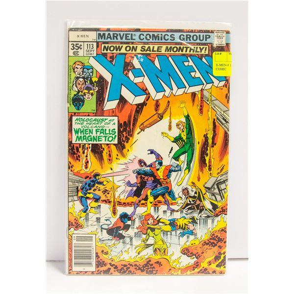 X-MEN # 113 MAGNETO BATTLE COMIC