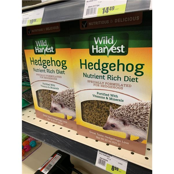 Wild Harvest Hedgehog food 2 x 623g