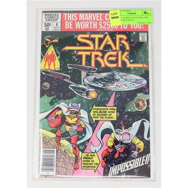 MARVEL COMICS STAR TREK THE MOTION PICTURE #6