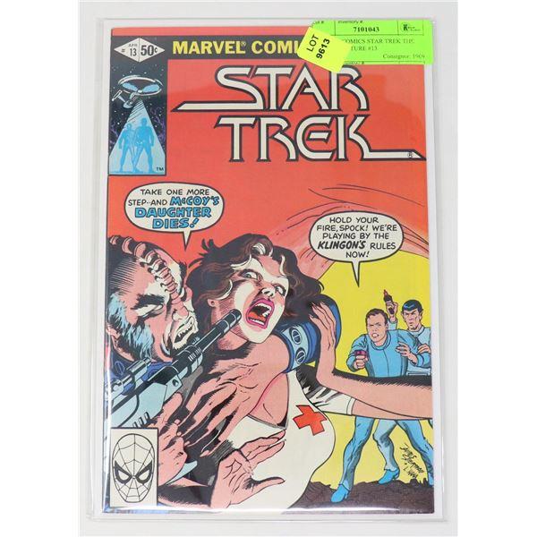 MARVEL COMICS STAR TREK THE MOTION PICTURE #13