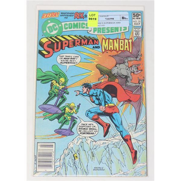 DC COMICS SUPERMAN AND MANBAT #35