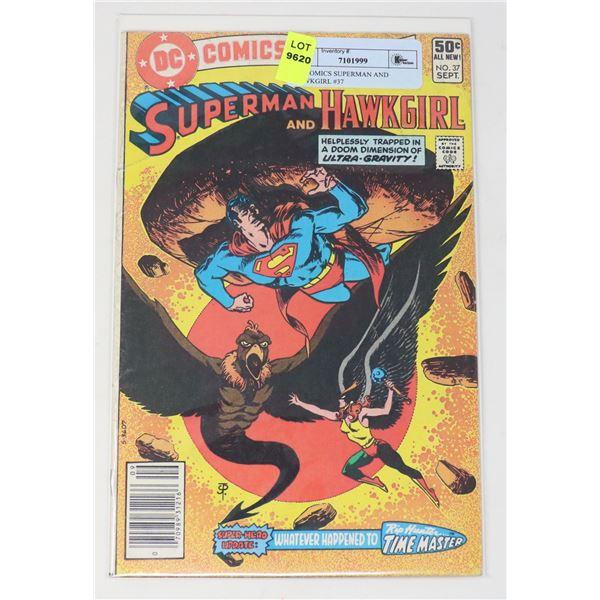 DC COMICS SUPERMAN AND HAWKGIRL #37