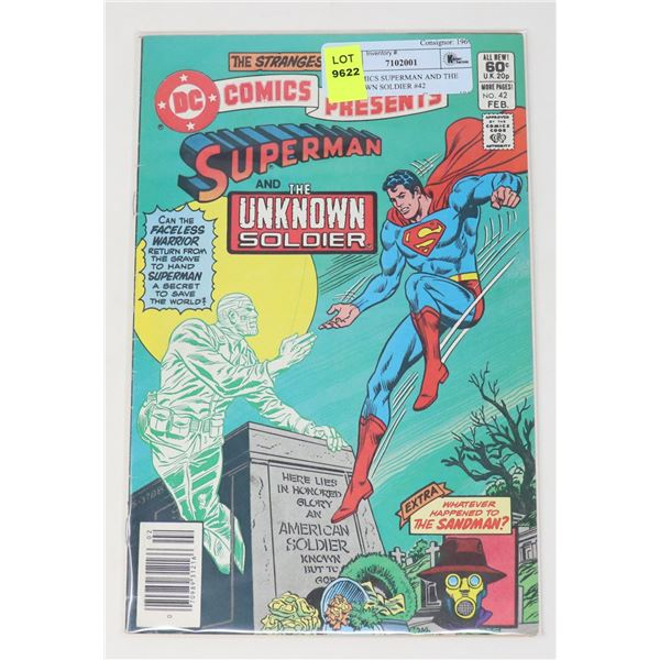 DC COMICS SUPERMAN AND THE UNKNOWN SOLDIER #42