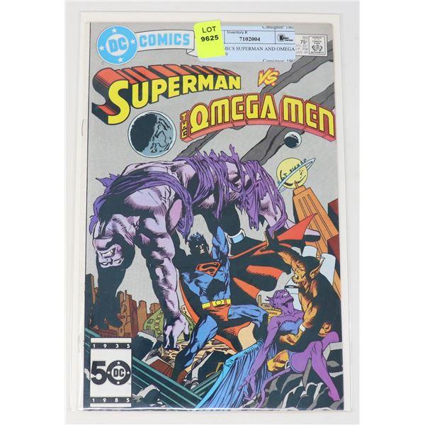 DC COMICS SUPERMAN AND OMEGA MAN #89