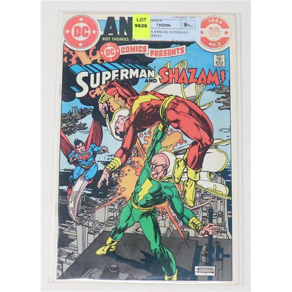 DC COMICS ANNUAL SUPERMAN AND SHAZAM #3