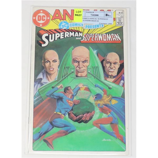 DC COMICS ANNUAL SUPERMAN AND SUPERWOMAN #4