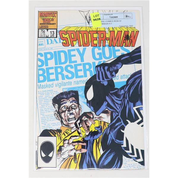 MARVEL COMICS WEB OF SPIDERMAN #13
