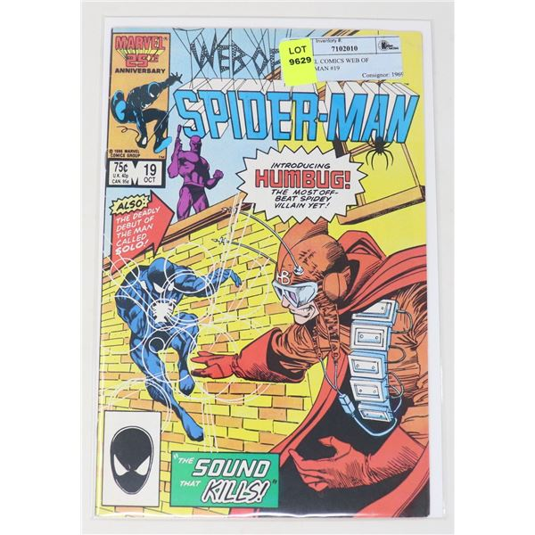 MARVEL COMICS WEB OF SPIDERMAN #19