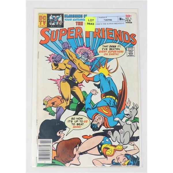 DC COMICS THE SUPER FRIENDS #3