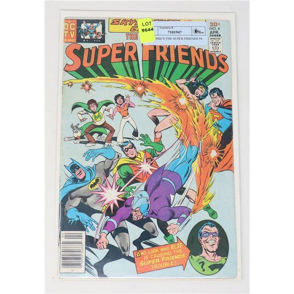 DC COMICS THE SUPER FRIENDS #4