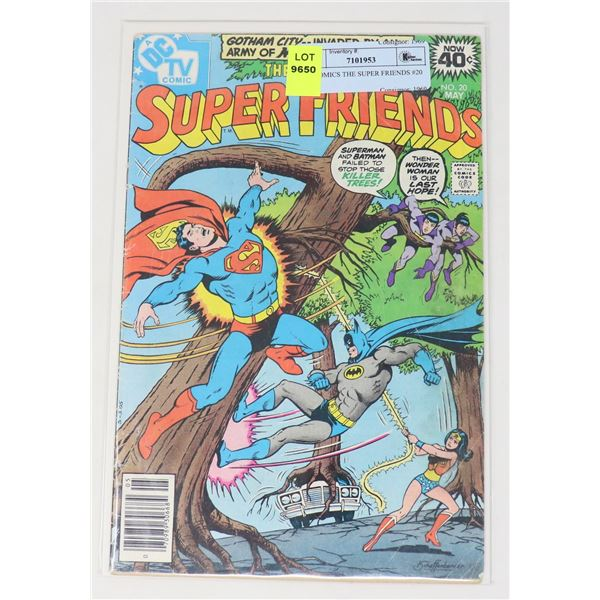 DC COMICS THE SUPER FRIENDS #20