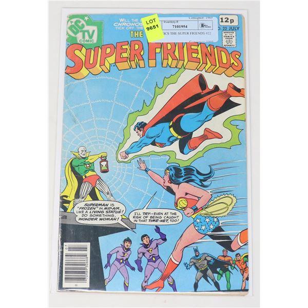 DC COMICS THE SUPER FRIENDS #22