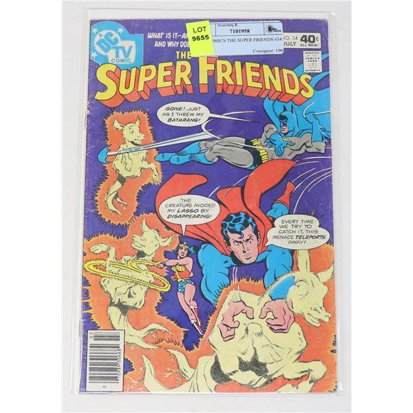 DC COMICS THE SUPER FRIENDS #34