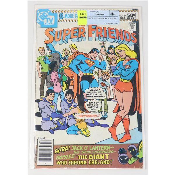 DC COMICS THE SUPER FRIENDS #37
