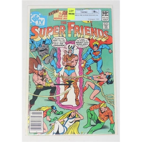 DC COMICS THE SUPER FRIENDS #46