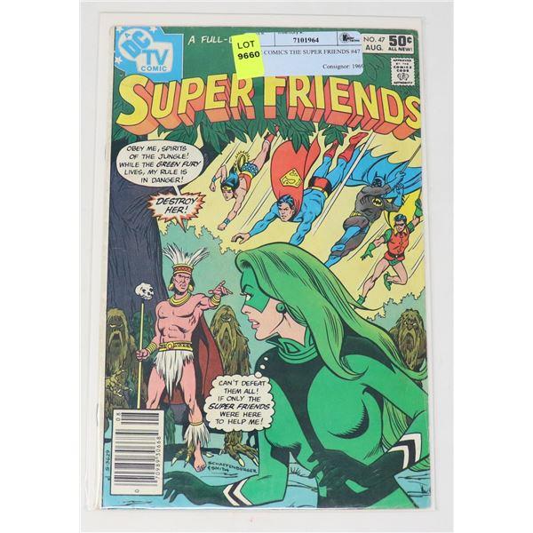 DC COMICS THE SUPER FRIENDS #47