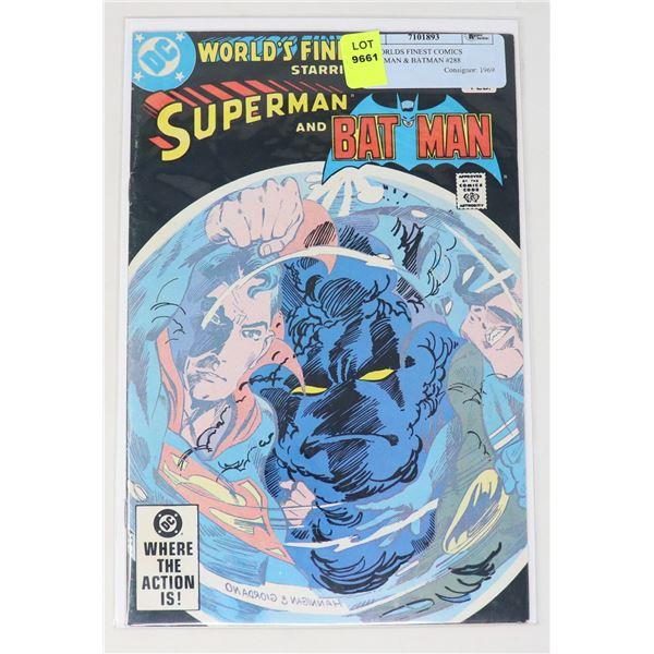 DC WORLDS FINEST COMICS SUPERMAN & BATMAN #288