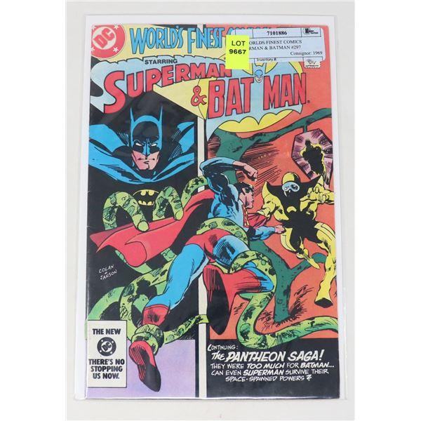 DC WORLDS FINEST COMICS SUPERMAN & BATMAN #297