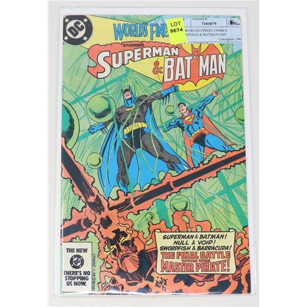 DC WORLDS FINEST COMICS SUPERMAN & BATMAN #307