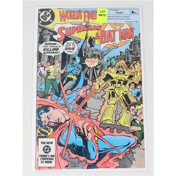 DC WORLDS FINEST COMICS SUPERMAN & BATMAN #308