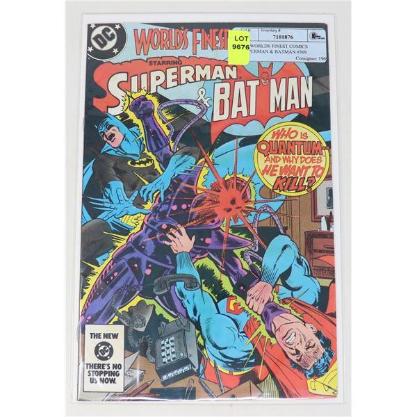 DC WORLDS FINEST COMICS SUPERMAN & BATMAN #309