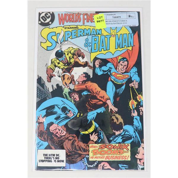 DC WORLDS FINEST COMICS SUPERMAN & BATMAN #310