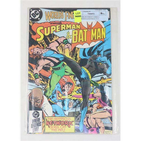 DC WORLDS FINEST COMICS SUPERMAN & BATMAN #313