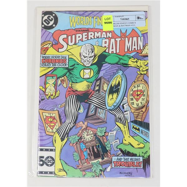DC WORLDS FINEST COMICS SUPERMAN & BATMAN #321