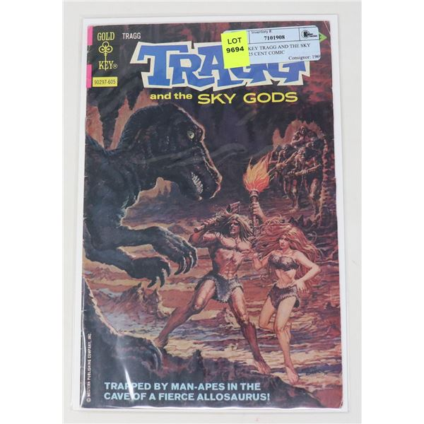 GOLD KEY TRAGG AND THE SKY GODS 25 CENT COMIC