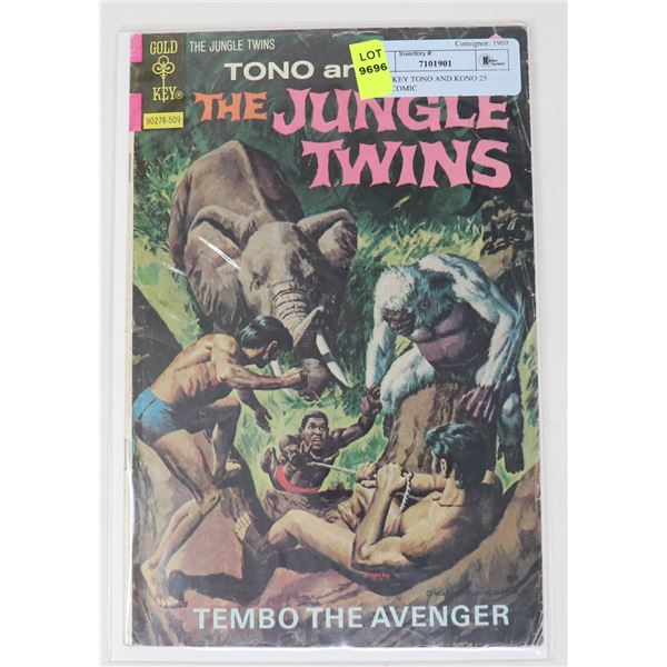 GOLD KEY TONO AND KONO 25 CENT COMIC