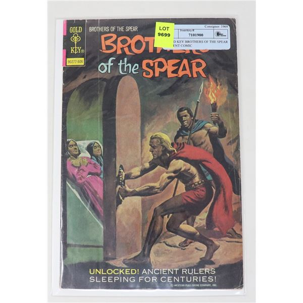 GOLD KEY BROTHERS OF THE SPEAR 25 CENT COMIC