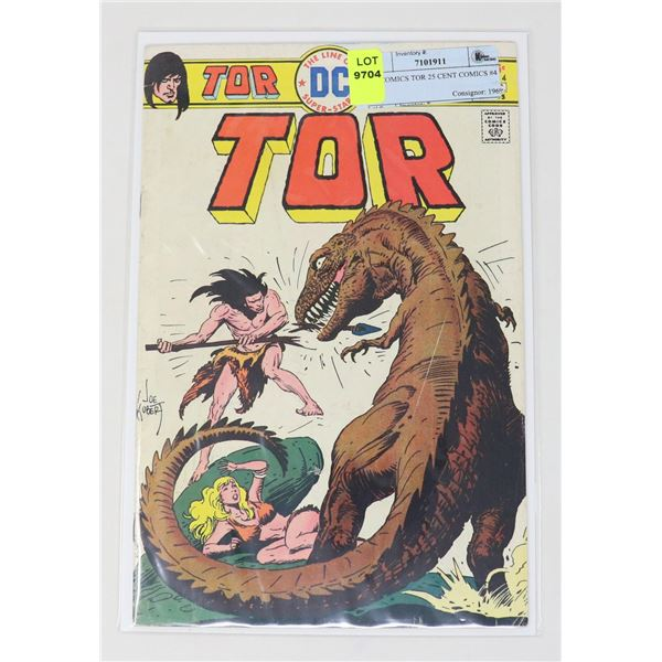 DC COMICS TOR 25 CENT COMICS #4