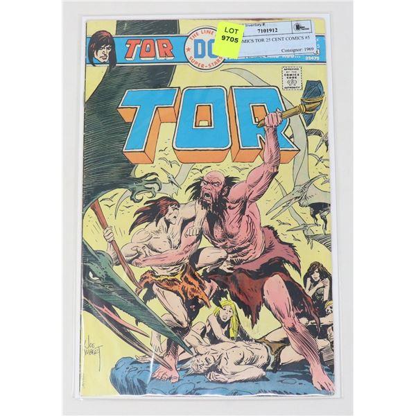 DC COMICS TOR 25 CENT COMICS #5
