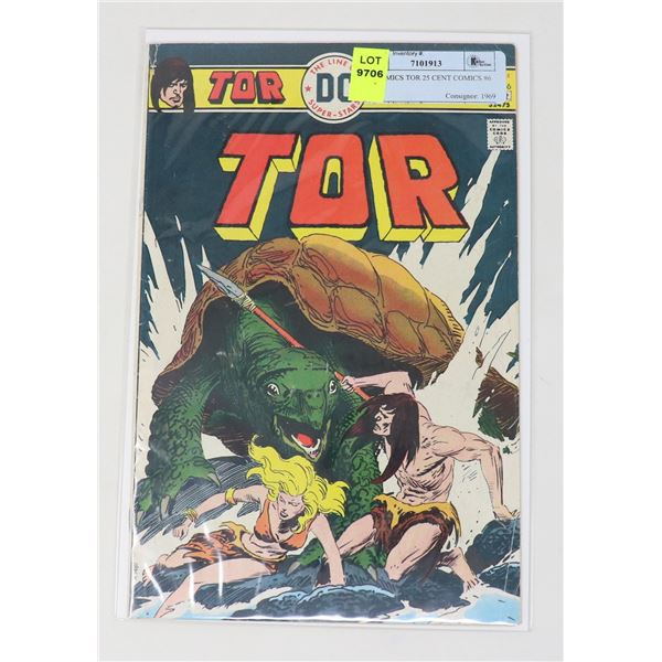 DC COMICS TOR 25 CENT COMICS #6