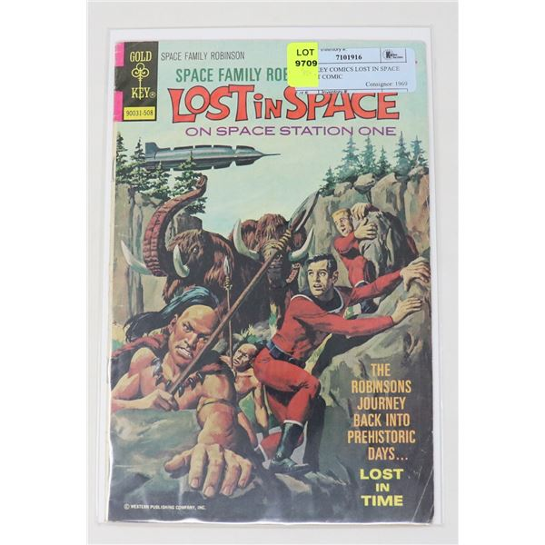GOLD KEY COMICS LOST IN SPACE 25 CENT COMIC
