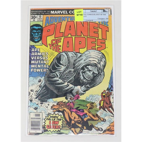 MARVEL COMICS PLANET OF THE APES #10